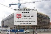 Zdjęcie do ogłoszenia: RUSZTOWANIA Sieradz Łódź Producent Rusztowań Rusztowań SIGMA J. Nowak