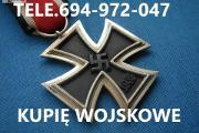 Zdjęcie do ogłoszenia: KUPIE WOJSKOWE STARE KOLEKCJE,ZBIORY TELEFON 694-972-047