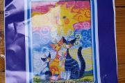 Zdjęcie do ogłoszenia: Zestaw do haftu krzyżykowego aida mulina kanwa DMC haft obraz wzór