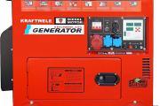 Zdjęcie do ogłoszenia: Agregat prądotwórczy trójfazowy KRAFTWELE SDG9800S DT 9.5kW!