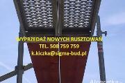 Zdjęcie do ogłoszenia: WYPRZEDAŻ - RUSZTOWANIA 100m2 - 20000m2 Producent DOSTAWA Cała Polska