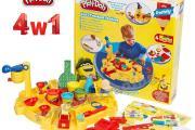 Zdjęcie do ogłoszenia: Zestaw PLAY-DOH 4w1 Studio Mega Warsztat Ciastolina Wyciskarka Akcesor