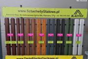Zdjęcie do ogłoszenia: Sztachety na płot w różnych kolorach.