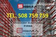 Zdjęcie do ogłoszenia: Rusztowania SIGMA 108m2 już od 3700 zł Producent Rusztowań